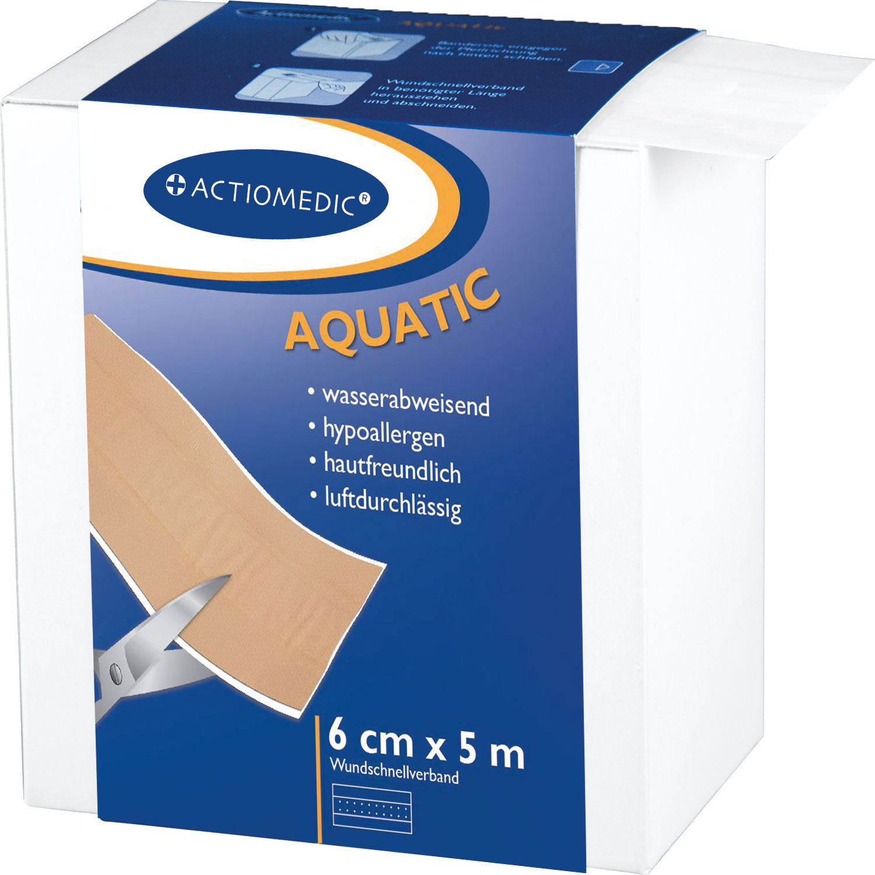 ACTIOMEDIC® AQUATIC Wundschnellverband, 5 m x 6 cm}