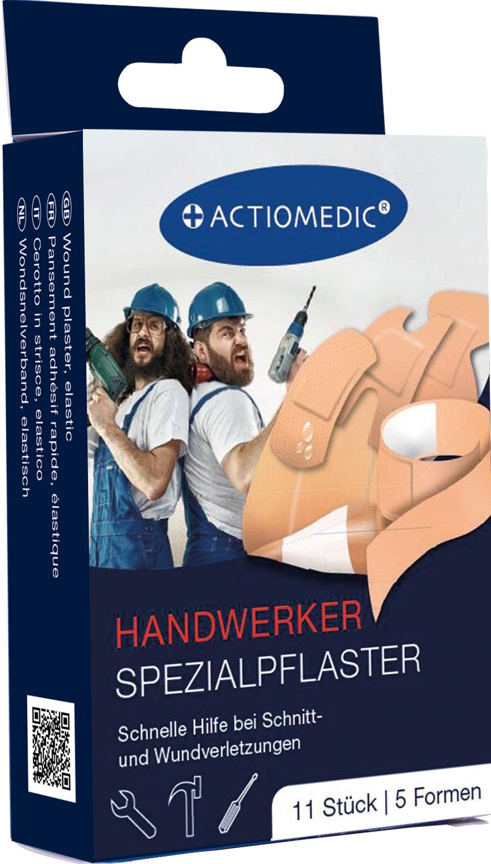 ACTIOMEDIC® HANDWERKER Spezialpflaster Set, 11-tlg.}