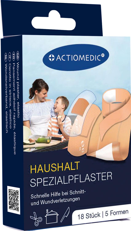 ACTIOMEDIC® HAUSHALT Spezialpflaster Set, 18-tlg.}