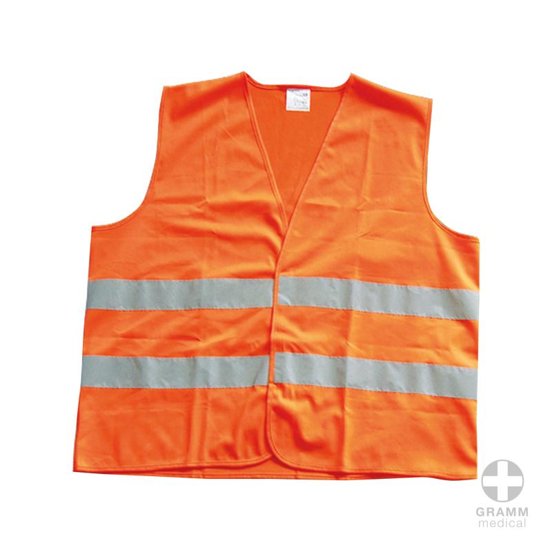Warnweste EN ISO 20471 - Univeralglröße, orange}