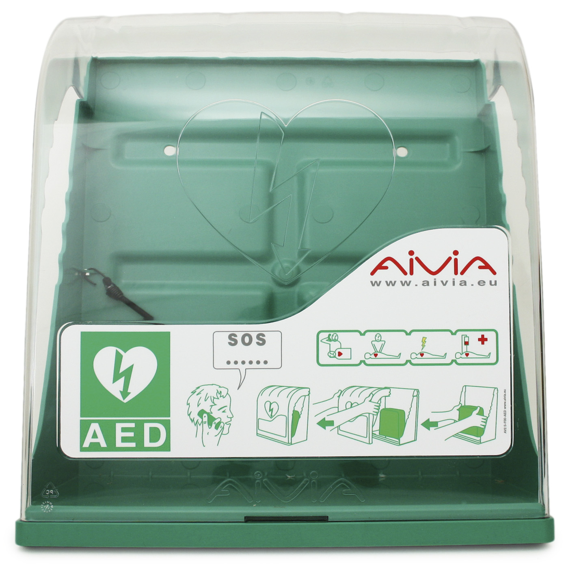 Aivia S, AED Schutzschrank}
