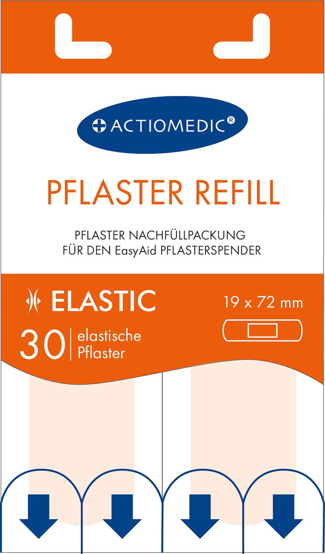 EasyAid Refill Strips 19 x 72 mm ELASTIC}