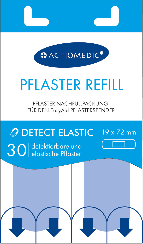 EasyAid Refill Strips 19 x 72 mm DETECT/ELASTIC}