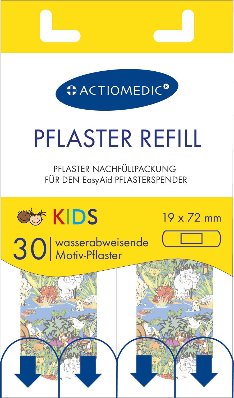 EasyAid Refill Strips 19 x 72 mm KIDS}