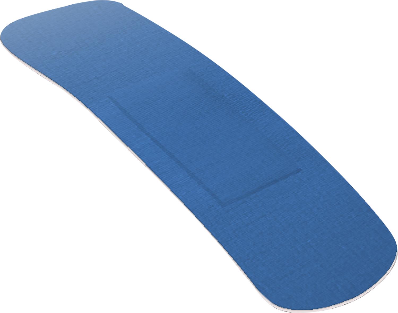 ACTIOMEDIC® X-RAY + ELASTIC Pflasterstrips, 19 x 72 mm, Pack à 100 Stück}
